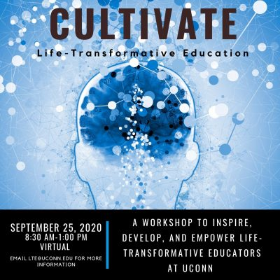 Cultivate flier for September 25, 2020 event